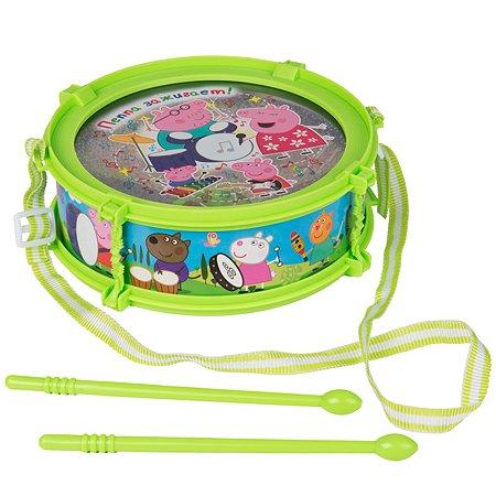 Барабан Свинка Пеппа Pig с палочками 30568