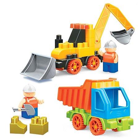 Конструктор Bauer Building Kinetic Трактор и грузовик 756