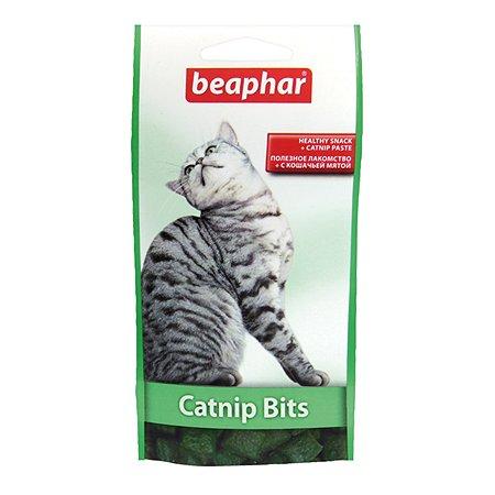 Подушечки для кошек Beaphar Catnip-Bits с кошачьей мятой 35г