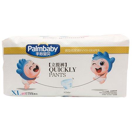 Подгузники-трусики Palmbaby XL 12-22кг 40шт