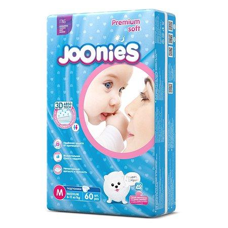 Подгузники Joonies M 6-11кг 60шт