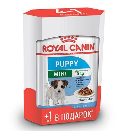 Корм для щенков ROYAL CANIN Mini Puppy мелких пород 4+1*85г