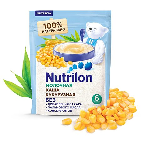 Каша молочная Nutrilon кукурузная 200г с 6месяцев