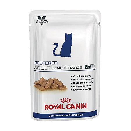 Корм влажный для кошек ROYAL CANIN Neutered Adult Maintenance 0.1кг стерилизованных c нормальным весом консервированный