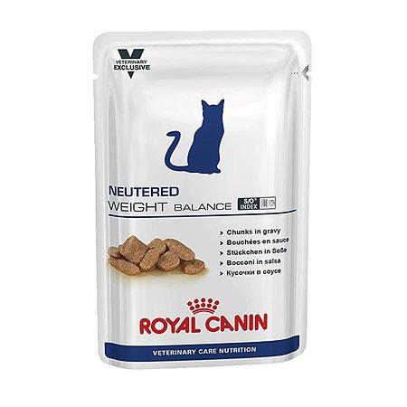 Корм влажный для кошек ROYAL CANIN Neutered Weight Balance 0.1кг стерилизованных с избыточным весом консервированный
