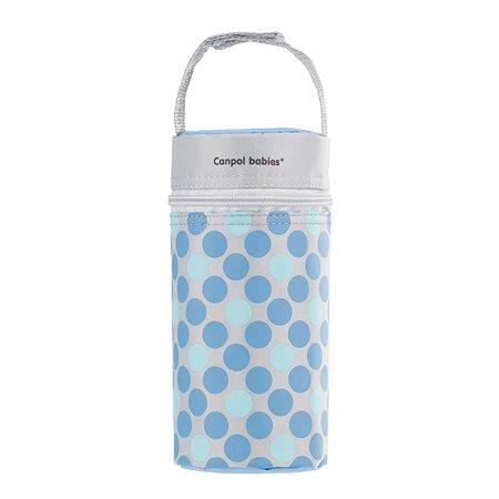 Термосумка для бутылочек Canpol Babies Retro Голубая
