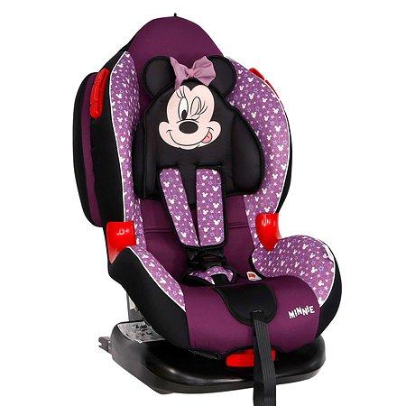 Автокресло SIGER Disney Кокон Isofix Микки Маус Звезды Фиолетовый