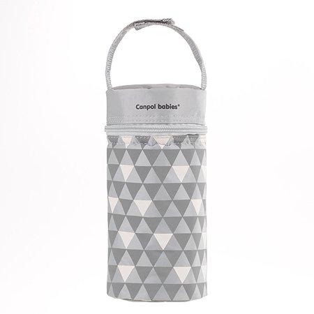 Термосумка для бутылочек Canpol Babies Retro Серая