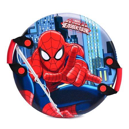 Ледянка 1TOY Marvel Человек-паук круглая с ручками Т59096