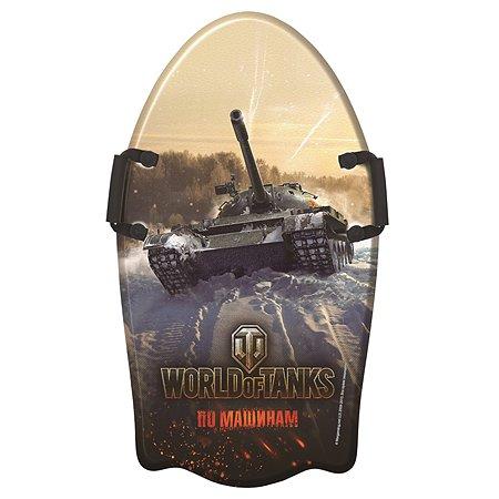 Ледянка 1TOY World of Tanks 92 см с плотными ручками