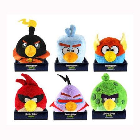 Игрушка плюшевая Angry Birds Space со звуком 20 см (в ассортименте)