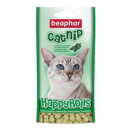 Рулеты для кошек Beaphar с кошачьей мятой 80таблеток