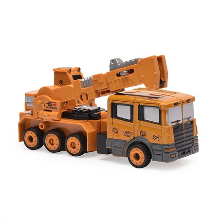 Робот-машинка 2 в 1 Devik Toys Кран
