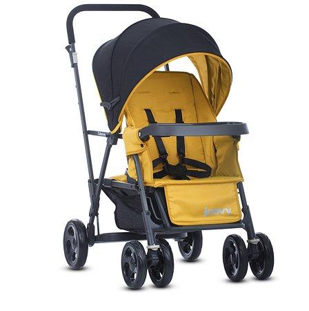 Прогулочная коляска JOOVY Caboose Graphite Желтая