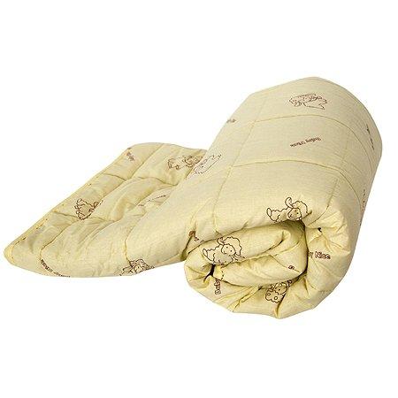 Одеяло стеганое ОТК Овечья шерсть