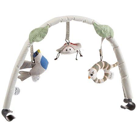 Дуга с игрушками Nuna Toy Bar для шезлонга Curv Bisque