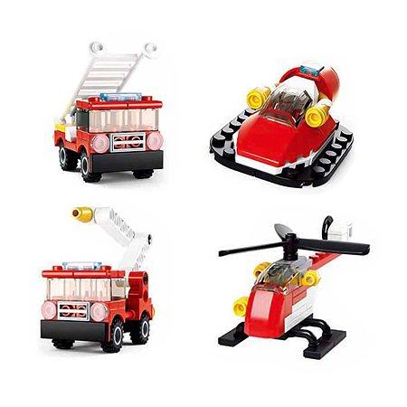 Миниконструктор SLUBAN Пожарные M38-B0593