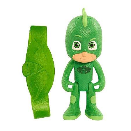 Игровой набор PJ masks фигурка со светом и браслетом Гекко