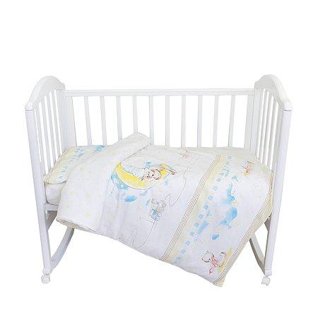 Комплект постельного белья Baby Nice Мишка на Луне 3предмета DMC102/18