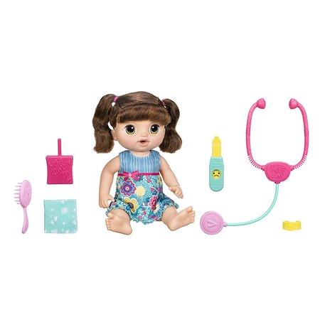 Набор игровой Baby Alive Малышка у врача Шатенка C0958121