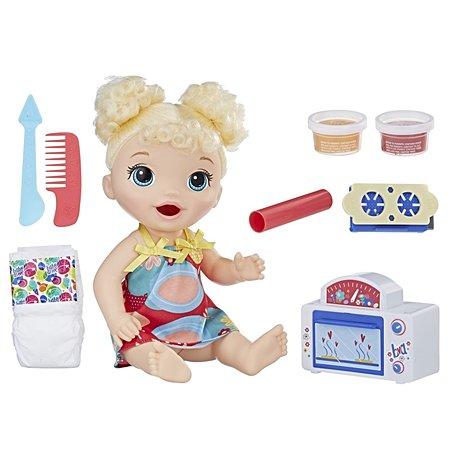 Набор игровой Baby Alive Малышка и еда E1947ES0
