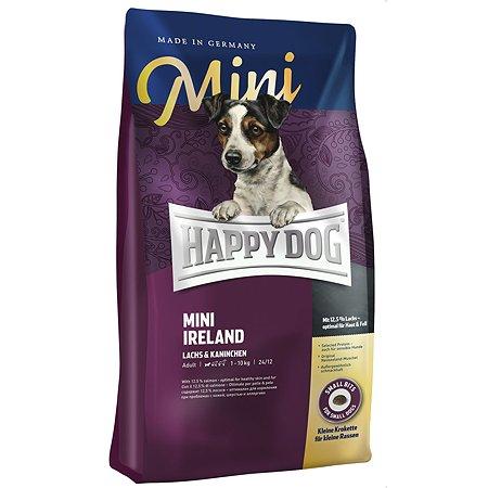 Корм для собак Happy Dog Supreme Mini Ирландия лосось-кролик 0.3кг