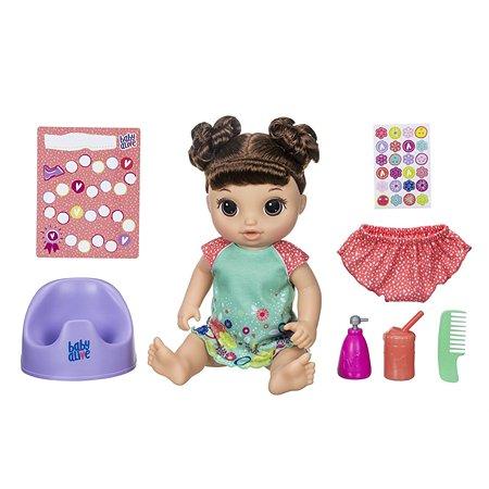 Набор игровой Baby Alive Танцующая малышка Шатенка E0610RS0