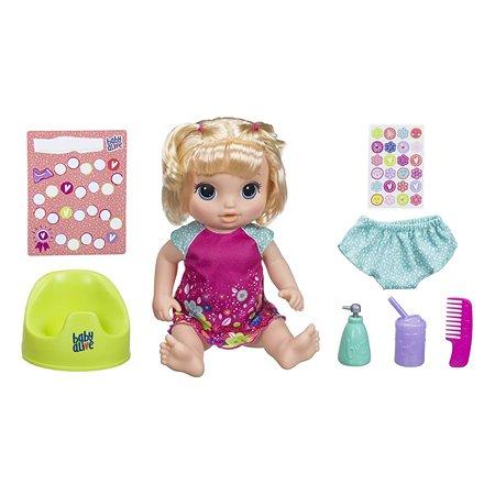 Набор игровой Baby Alive Танцующая малышка Блондинка E0609RS0