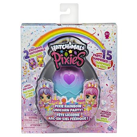 Набор игровой Hatchimals Пикси Вечеринка Единорожек в непрозрачной упаковке (Сюрприз) 6054600