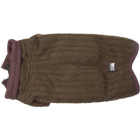 Куртка для собак DogGoneSmart вязаная 18 Коричневый 30699