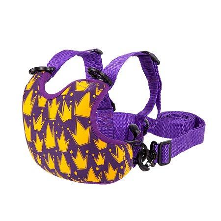 Вожжи-поводок WOW! GIMPAS Королевский Фиолетовый для начинающих ходить малышей WOW! GIMPAS