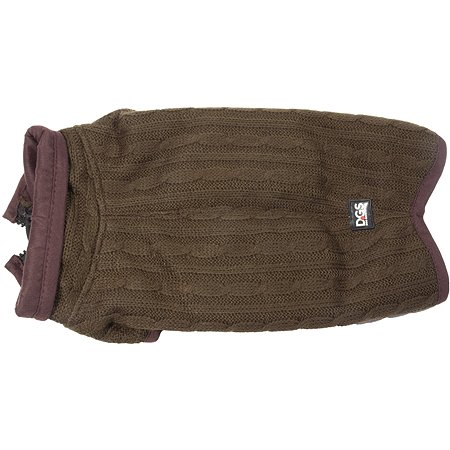 Куртка для собак DogGoneSmart вязаная 20 Коричневый 30712