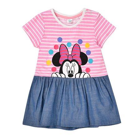 Платье Disney baby розовое