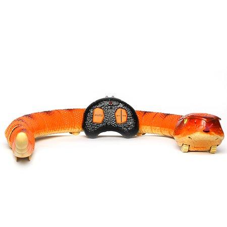 Игрушка HK Industries РУ Змея Оранжевая 7707