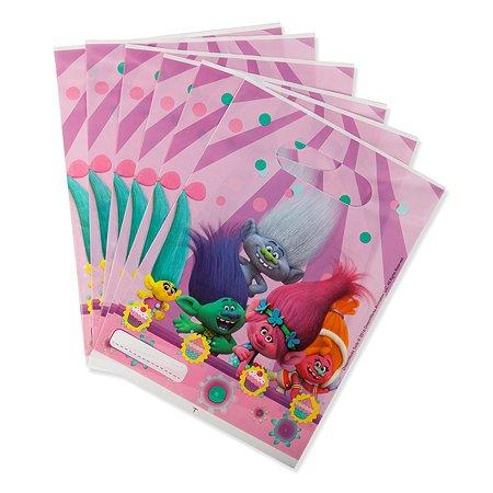 Подарочные пакетики Trolls Тролли 6 штук