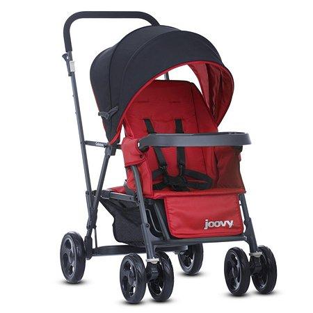 Прогулочная коляска JOOVY Caboose Graphite Красная