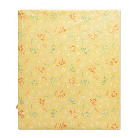 Матрас  для пеленания Виталфарм 3х63х73см жёлтый