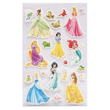 Наклейка декоративная лицензионная Disney Принцессы