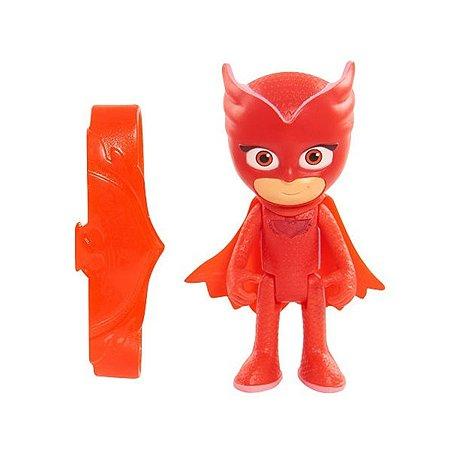 Игровой набор PJ masks фигурка со светом и браслетом Алетт