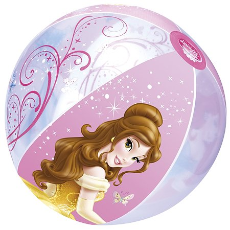 Мяч пляжный Disney Принцессы 50см