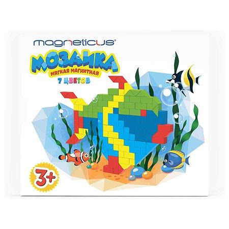 Мозаика MAGNETICUS 252 элемента 7 цветов 20 этюдов