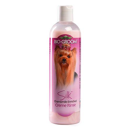 Кондиционер-ополаскиватель для кошек и собак BIO-GROOM Silk Condition для блеска и гладкости шерсти 355 мл