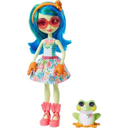 Кукла Enchantimals Тамика Квакша и Берст GFN43