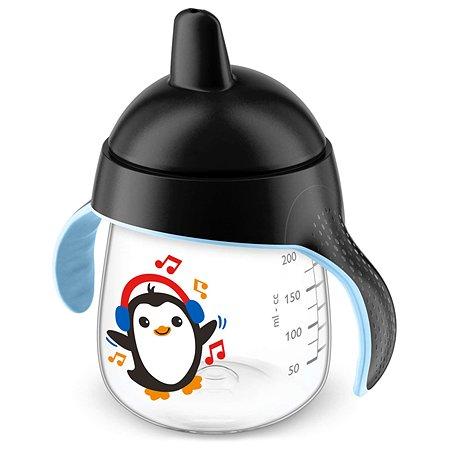 Чашка-поильник Philips Avent 260мл с 12месяцев Черный SCF753/03