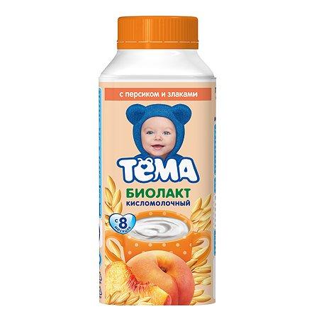 Биолакт Тёма персик-злаки 3.0% 206г с 8месяцев 140014
