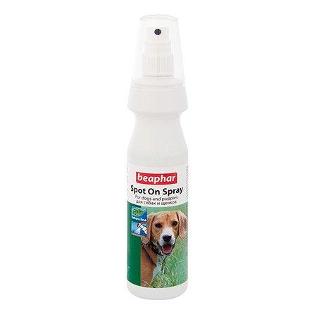 Спрей для собак Beaphar Spot On Spray от клещей и блох с маслом маргозы и лаванды 150мл