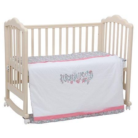 Комплект постельного белья Polini kids Последний Богатырь 3 предмета Принцесса Розовый