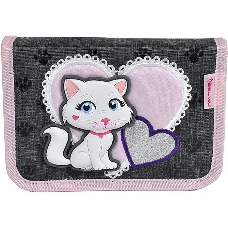 Пенал BELMIL Special Cute cat без наполнения 2 клапана 335-72/18SP11