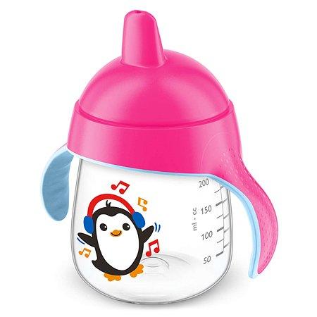 Чашка-поильник Philips Avent 260мл с 12месяцев Розовый SCF753/07