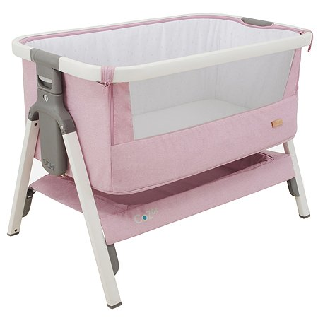 Колыбель Tutti bambini CoZee White-Dusty Pink 211205/1191